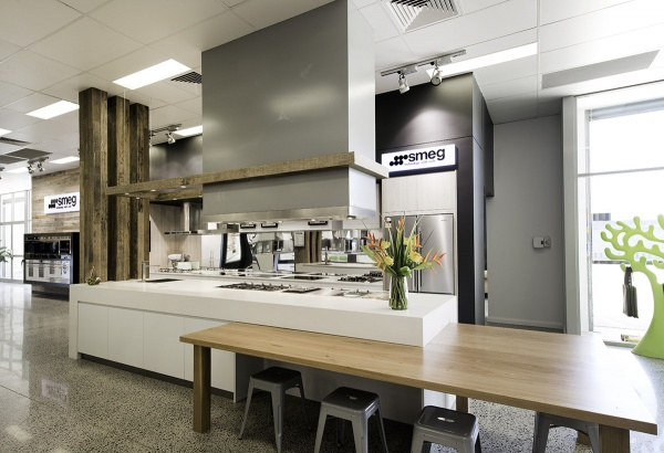 Office fit-out Jerrabomberra, Solid Timber Bench tops