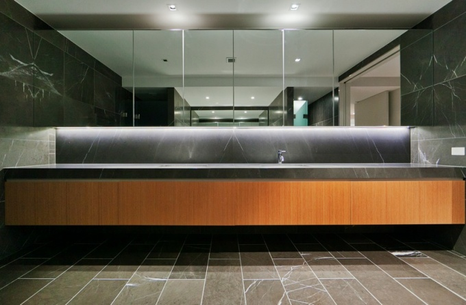 Bathroom joinery, Office fit-out Tuggerangong