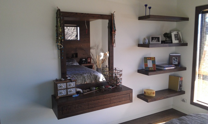 Custom kitchens and bathrooms, Fold away, bi folding or roll up doors