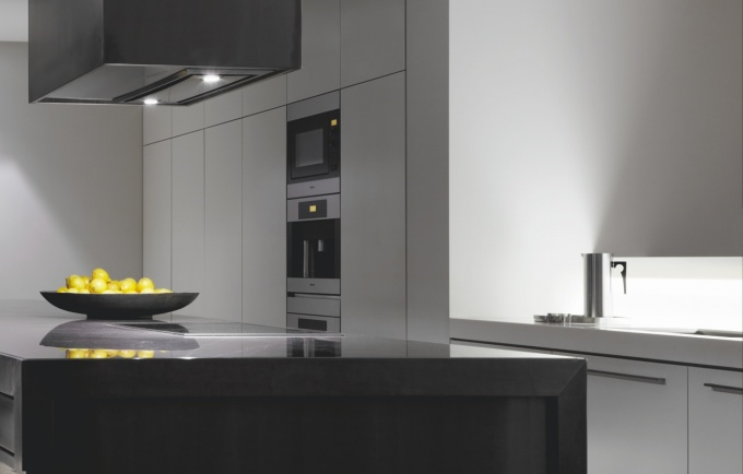 Commercial fit-out, Glass Bench tops